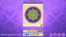 Mandala Coloring Pages: Gameplay Kids Coloring Designing