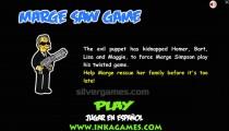 Marge Saw Game: Menu