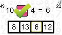 Math Practice Game: Gameplay Correct Addition