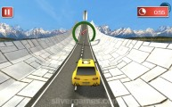 Mega Ramp Stunt Cars: Landscape Driving
