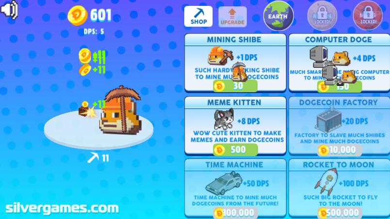 Meme Miner Play Meme Miner Online On Silvergames
