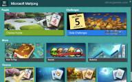 Microsoft Mahjong: Menu