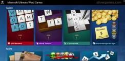 Microsoft Word Games: Menu