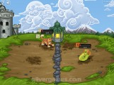 Min Hero: Tower Of Sages: Gameplay Fighting Minions