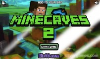 Minecaves 2: Menu