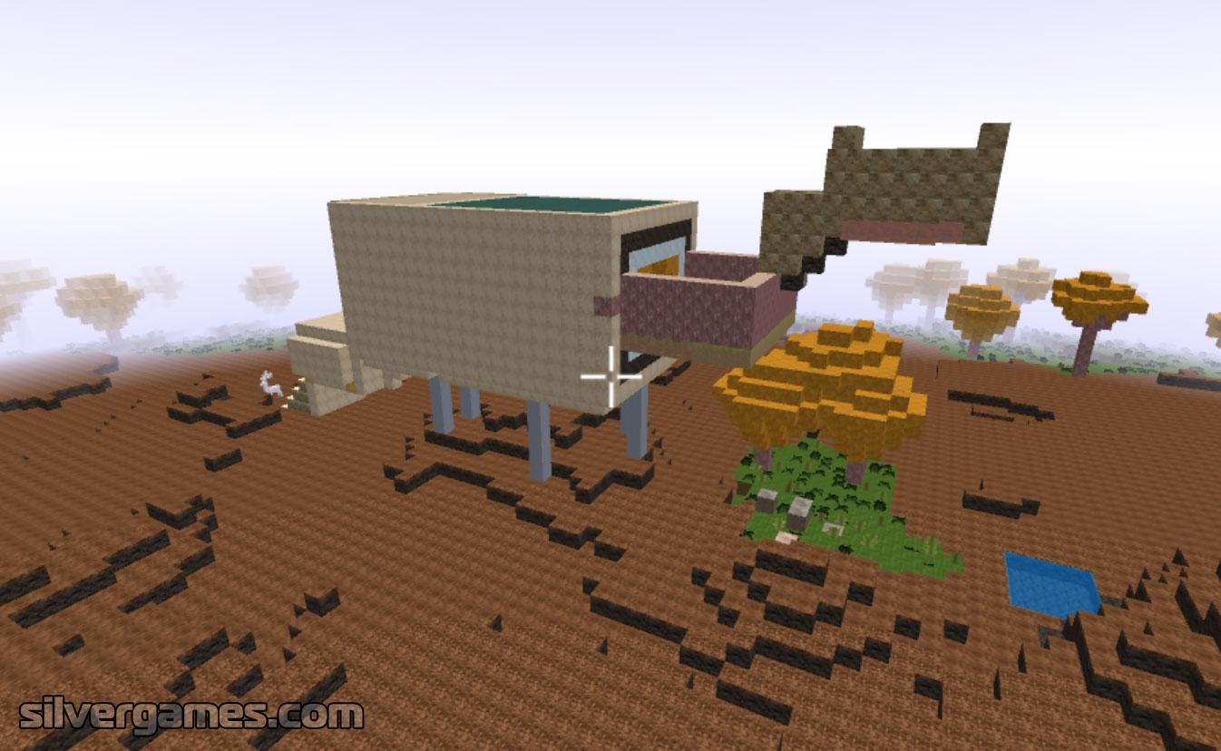 Minecraft Builder Play Minecraft Builder Online On Silvergames