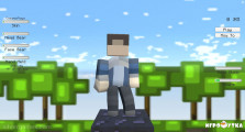Minecraft Runner: Menu