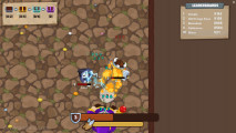 MiniGiants .io: Attacking Warriors