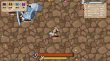 MiniGiants .io: Gameplay Battle Royale