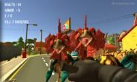 Cacería De Monstruos: Gameplay Dino Attack
