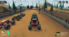 Monster Truck Racing Arena: Starting Truck Race