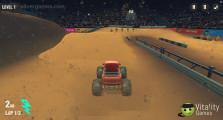 Monster Truck Racing Arena: Truck Race Gameplay