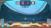 Monster Truck Soccer: Gameplay Soccer Duell