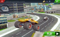 Monster Truck Stunts: Menu