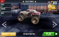 Monster Truck Stunts: Gameplay Garage Car