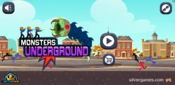 Monsters Underground: Menu