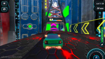 Moon City Stunt: Gameplay Futuristic Race