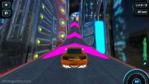 Moon City Stunt: Gameplay Neon Ramp