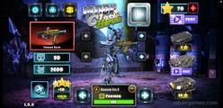 Moon Clash Heroes: Menu