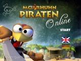 Moorhuhn Pirates: Menu