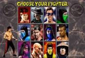 Mortal Kombat  2: Character Selection