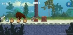 Moto Maniac 3: Gameplay Motobike Bear