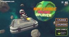 Moto Space Racing 2 Player: Menu