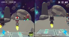 Moto Space Racing 2 Player: Two Player Race Space