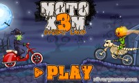 Moto X3M Spooky Land: Game