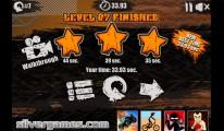 Moto X3M: Level Finished Stars