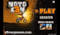 Moto X3M: Start Screen