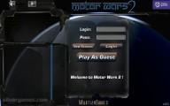 Моторные Войны 2: Menu