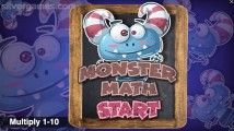 Multiplication Math Game: Menu