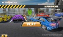 Multistory Car Parking Simulator: Menu