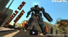 Muscle Car Robot: Menu