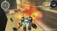 Muscle Car Robot: Gameplay Robot Destruction