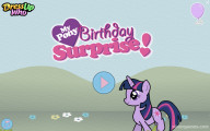 My Little Pony Birthday: Menu