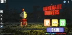 Nightmare Runners: Menu
