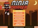 Ninja Painter: Menu