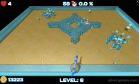 Nova Xonix 3D: Gameplay