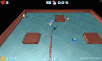 Nova Xonix 3D: Relaxing Game