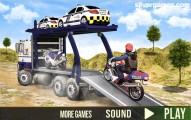 Offroad Police Transport: Screenshot