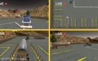 Oil Tanker Transporter Truck Simulator: Oil Tank Truck Four Cameras