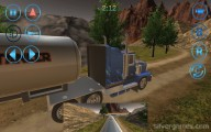 Oil Tanker Transporter Truck Simulator: Gameplay Oil Tank Driving