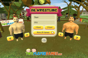 Oil Wrestling: Menu Wrestling