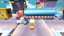 Om Nom Run: Gameplay Distance Running