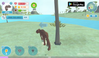 Panther Family Simulator 3D: Gameplay Panther