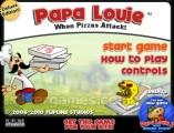 Papa Louie: Menu