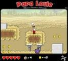 Papa Louie: Jumpnrun Gameplay