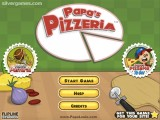 Papa's Pizzeria: Screenshot